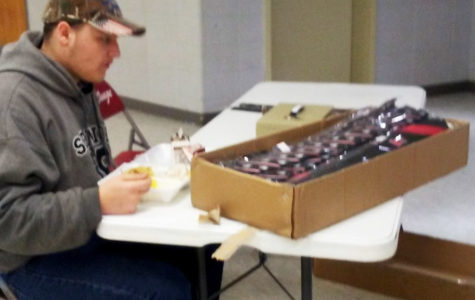 Environmental Science class sells ties to help with recycling efforts