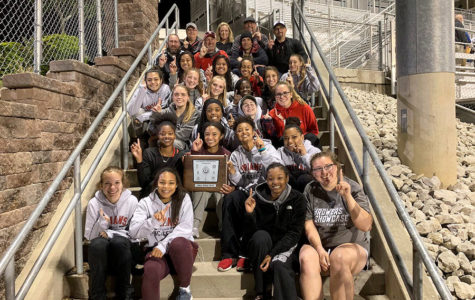 Girls Track & Field Team captures two championships