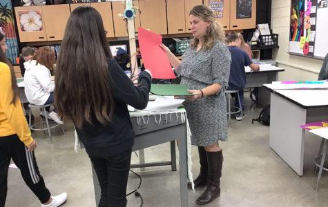 New art teacher welcomed to school