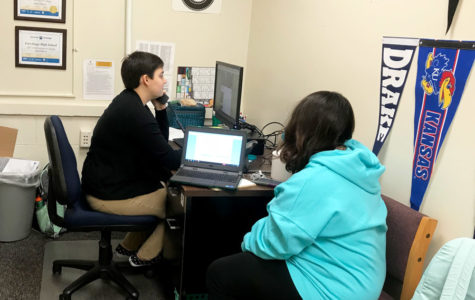 Ms. Brier takes on college adviser role