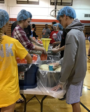Over 250 students help 3rd annual Fort Serves