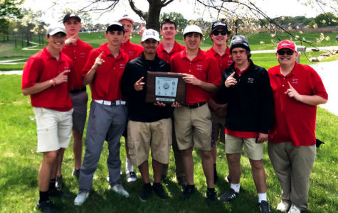Boys Golf makes school history with 1st Conference Title