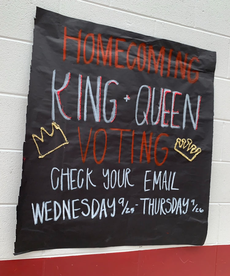 Student Council changed the nomination process for Homecoming/Courtwarming Royalty starting this school year.
