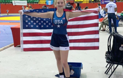 Freshman Haley Ward wins gold at Pan-Am Games