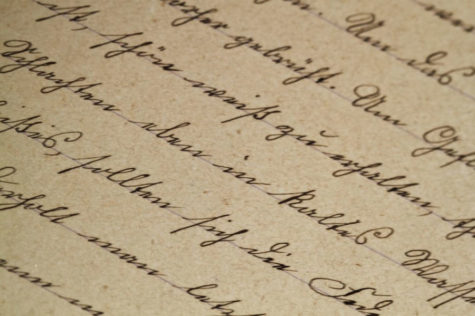 What happened to cursive writing?
