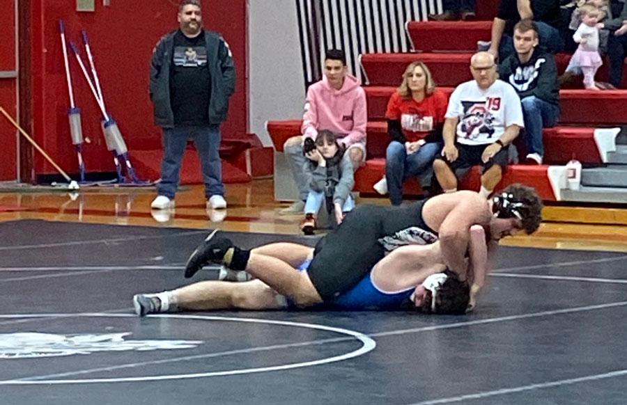 Varsity Wrestling starts season with 2 duel wins
