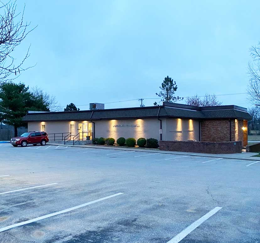 The Gragg Adminstrative Building sits on the south side of the campus and is one of the oldest buildings in the district. Voters will be faced with the Bond and Levy questions on the April 6 ballot.