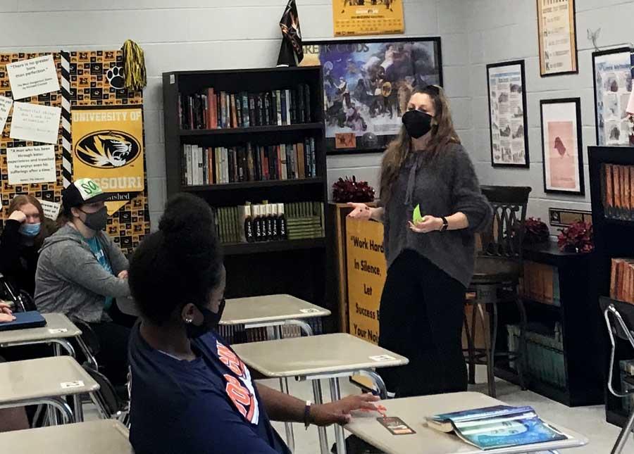 Hopkins named 2021 FOHS Teacher of the Year