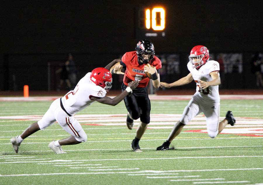 FOOTBALL: Indians roll over Falcons in 1st ever meeting
